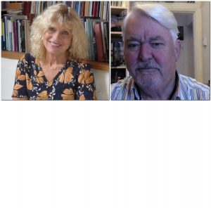 September 3rd 2020 - Guest Poets:  Rosie Jackson and Graham Burchell